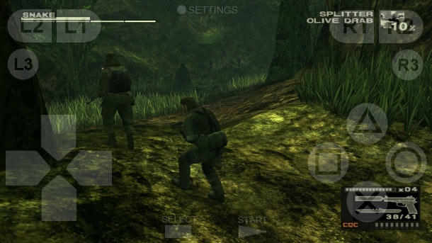 Metal Gear Solid 3: Snake Eater on Android